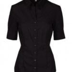 Camisa negra mujer