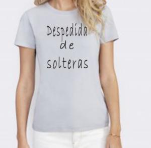 Camiseta despedida de solteras
